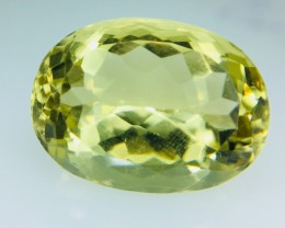 12.80 Crt Lemon Quartz Faceted Gemstone (R 190)