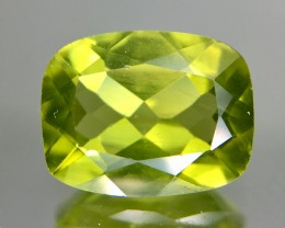 2.10 Crt Peridot Faceted Gemstone (R 190)