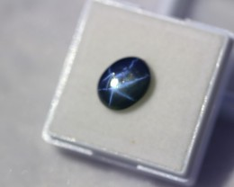 3.75Ct Natural 6 Rays Star Blue Sapphire Lot LZ628