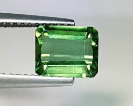 1.69 ct Top Luster Green  Emerald Cut Natural Apatite
