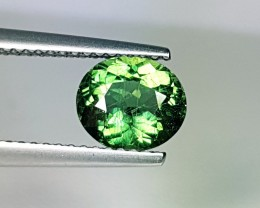 1.44 ct Wonderful Green Oval Cut Natural Apatite