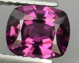 1.15 Cts Natural Unheated oval Fine Purple-Pink Rhodolite Garnet Tanzania