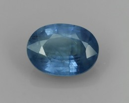 1.25 CTS AWESOME CEYLON BLUE SAPPHIRE FACET GENUINE HEATED