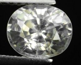 1.85 Cts SPARKLE RARE NATURAL EARTH MINED WHITE ZIRCON
