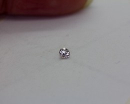 2*0.140Ct  Zircon Natural Pink Australian