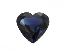 2.04cts Natural Australian Blue Sapphire Heart Shape