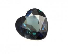 1.89cts Natural Australian Blue Sapphire Heart Shape