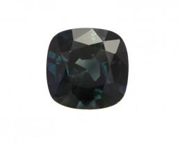 1.32cts Natural Australian Blue Sapphire Cushion Shape