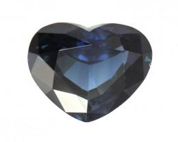 5.01cts Natural Australian Blue Sapphire Heart Shape