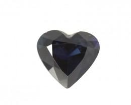 2.03cts Natural Australian Blue Sapphire Heart Shape