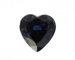 2.40cts Natural Australian Blue Sapphire Heart Shape