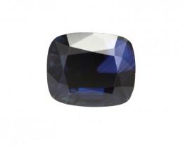 2.60cts Natural Australian Blue Sapphire Cushion Shape