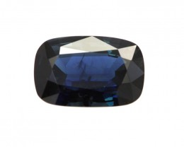 3.31cts Natural Australian Blue Sapphire Cushion Shape