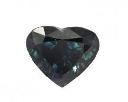 3.27cts Natural Australian Blue Sapphire Heart Shape