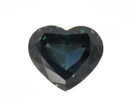 2.75cts Natural Australian Blue Sapphire Heart Shape