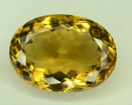 14.75 ct Honey Quartz l Loose Gemstone