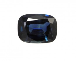 1.68cts Natural Australian Blue Sapphire Cushion Shape