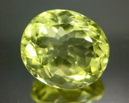 6.75 Crt Lemon Quartz Faceted Gemstone (R 191)