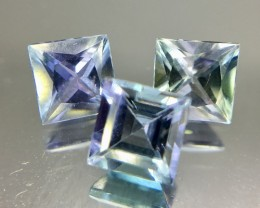 1.95 Crt Tanzanite Calibrated Parcel Faceted Gemstone (R 191)