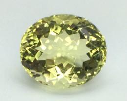 9.38 Crt Natural Lemon Quards Top Luster Faceted Gemstone (MG 03)