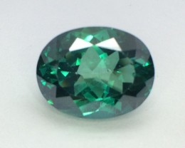 13.59 Crt Natural Green Topaz Beautifulest Faceted Gemstone (MG 03)