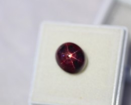 7.63Ct Natural 6 Rays Star Ruby Lot LZ633