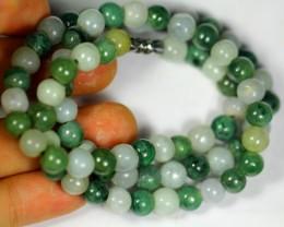 246.0Ct  Burmese Type-A Jadeite Jade Necklace