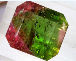 14.82 cts CERTIFIED WATERMELON  TOURMALINE BI -COLOUR TBM-853