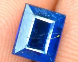 0.75 cts Octangal Cut Rare Sapphire Blue Natural AFGHANITE Gemstone
