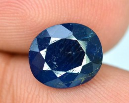 1.65 cts Oval Cut Rare Sapphire Blue Natural AFGHANITE Gemstone
