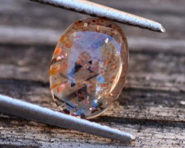 1.64cts Sunstone -Rainbow Lattice (RSU4)