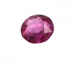 0.33cts Natural Burmese Round Shape Ruby