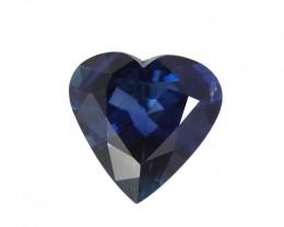 2.73cts Natural Australian Blue Sapphire Heart Shape