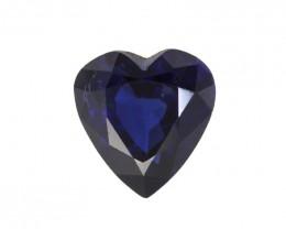 2.93cts Natural Australian Blue Sapphire Heart Shape