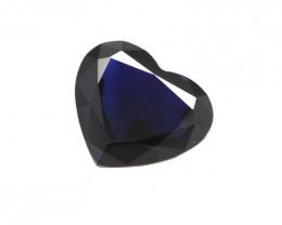1.90cts Natural Australian Blue Sapphire Heart Shape