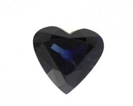3.21cts Natural Australian Blue Sapphire Heart Shape