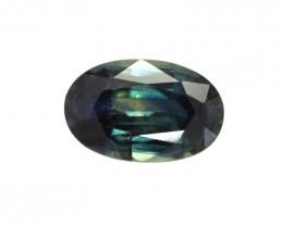 1.38cts Natural Australian Blue Sapphire Oval Shape