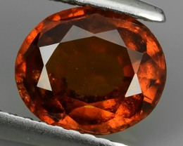 1.90 Cts EXQUISITE NATURAL UNHEATED RED OVAL HESSONITE GARNET