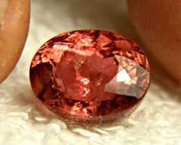 6.79 Ct. African Champaign Pink Tourmaline - Gorgeous