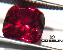2.05ct Gubelin Certified Unheated Ruby