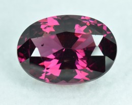 4.00 Cts Wonderful Lustrous Attractive Color Natural Rhodolite Garnet