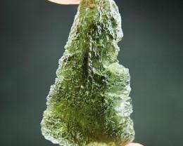 Natural Moldavite - Drop - natural middle fragment shape
