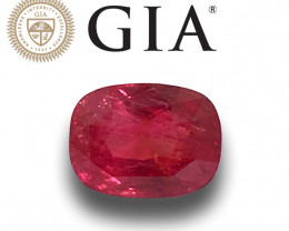 GIA Certified Natural Unheated Ruby|Loose Gemstone|New| Sri Lanka