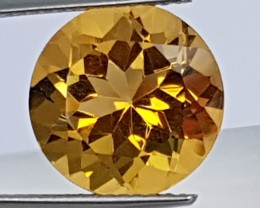 6.19cts Citrine,  Top Cut,  Calibrated