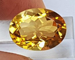 8.37cts Citrine,  Top Cut,  Calibrated