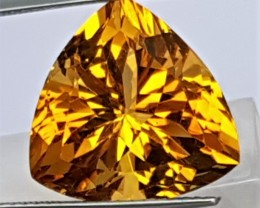 12.70cts Citrine,  Top Cut,  Calibrated