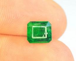 Top Color 1.30 ct Natural Emerald~ Swat AM