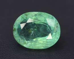6.05 cts Oval Cut Emerald gemstone From Afghanistan