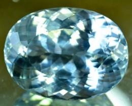 44.80 cts  Aqua Color spodumene Gemstone From AFG (A)