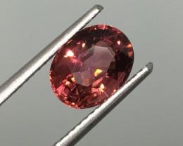 2.05 Carat VVS/VS Pinkish Red Tourmaline - Exceptional Quality  !